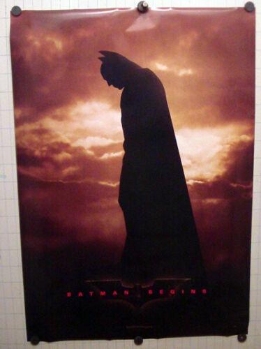 Batman Begins_Original One Sheet Movie Poster  2005