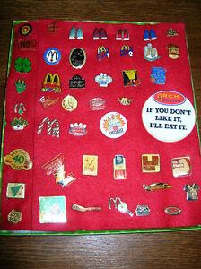 Collectible McDonald's Service/Theme  Lapel Pins