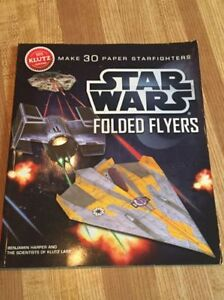 Star Wars Folded Flyers - Build Paper Airplanes Star Wars Style!