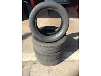 2 x 215/45/16 CONTINENTAL TYRES AS NEW!! CORSA CLIO SKODA VRS ASTRA POLO LEON GOLF PASSAT CHEAP!!