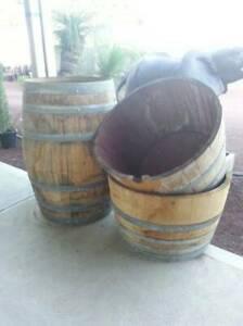Wine Barrels. Half $99 Whole $199 Heatherton Kingston Area Preview
