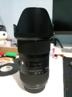 Sigma 18-35mm f/1.8 DC HSM Art Lens for Nikon