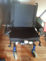 High Capacity Arrow Storm Series Electric Wheelchair