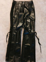 2 pairs of DANIER 100% Authentic Leather Pants