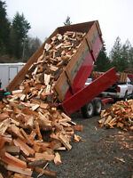 Cheap Split Firewood - $225 / Cord or Two Cords $425 Delivered