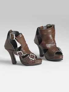 Brown Buckle up Boots for 22
