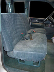 Custom Fit Seat Covers Chevy Pickup 1990 91 92 93 94 95 96