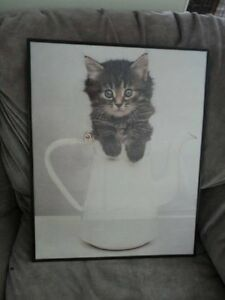 wedding print and a cat picture Sarnia Sarnia Area image 2
