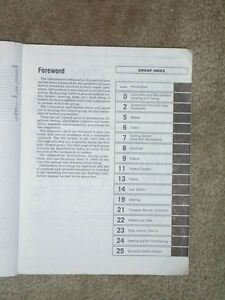 OEM Chrysler Minivan Service manual Sarnia Sarnia Area image 2