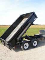 UTILITY DUMP TRAILERS FOR RENT