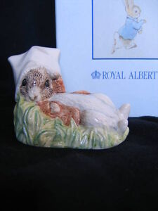 "ROYAL ALBERT ""BENJAMIN WAKES UP"" FIGURINE"