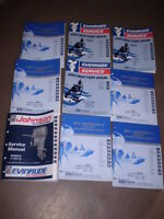 Johnson and Evinrude Service Manuals $15.00 each