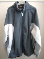 Firefly - Dark / Light Grey Fleece Zip Jacket