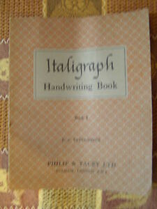 Book - Italigraph - Handwriting Book