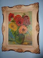"Vintage 1971 Original Oil Painting - Beautifully Framed! 22"""