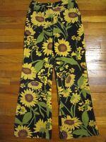 "Gymboree Girls Size 7 ""Sunflowers"" Corduroy Pants"