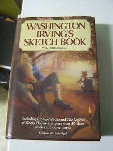 Book - Washington Irving Sketchbook