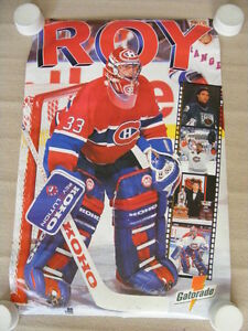 "FS: 1994 Patrick Roy ""Gatorade"" Promotional Sheet"