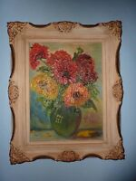 Vintage 1971 Original Oil Painting - Beautifully Framed! 22""