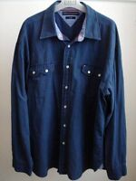 Navy Blue Shirt by Tommy Hilfiger