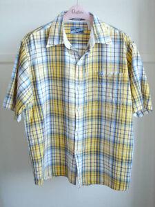 Enyce - Blue/Yellow Plaid Short Sleeve Shirt