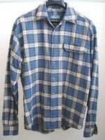 Blue/White Plaid Flannel Shirt by Pro Cam-Fis