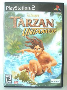 PS2 Game - Disney's Tarzan Untamed