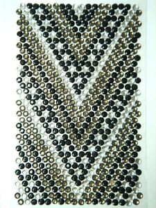 Bling Jewelry Rhinestone Sticker - V