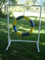 Custom made DOG AGILITY Equipment