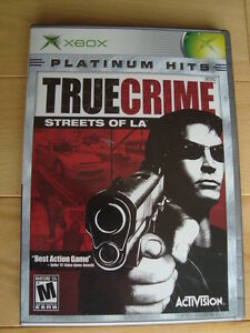 Xbox Game - True Crime -Streets Of LA  - Excellent Condition Kitchener / Waterloo Kitchener Area image 1