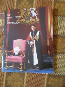 Book - The Royal Line of Succession