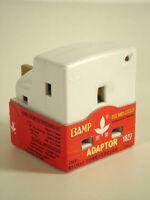 3-Way Fused Plug Adaptor Socket 13A