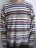 Multi Color Striped Sweater - Size L