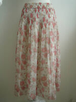 Sheer Floral Skirt - Size S/M