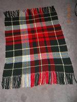 Hand Crocheted New Brunswick Tartan Afghan (sold making more)