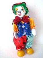 Porcelain Moving Head Musical Clown Doll