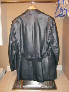 JENO de PARIS Leather Jacket London Ontario image 2
