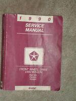 OEM Chrysler Minivan Service manual