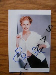 "FS: Elisabeth Shue ""Autographed"" 4x6 Photo London Ontario image 1"