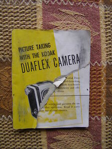 Kodak Duraflex Camera Instruction Booklet