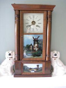 Waterbury Chiming Case Clock (Key Wound Weight)