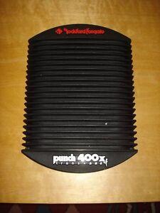 Rockford Fosgate Punch Amplifier 400x4 Trans-Ana (Car Amp)
