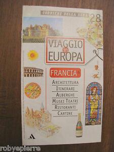 CARTINA-MAPPA-fascicolo-viaggio-in-europa-n-28-francia-6-bretagna-valle-loira