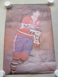 """FS: 1971 Sports Illustrated """"Jean Beliveau"""" Poster London Ontario image 1"""