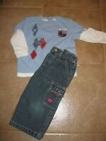 Carter Jeans with long sleeved top