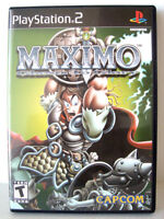 PS2 Game - Maximo: Ghosts To Glory