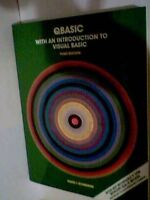 Qbasic With an Introduction to Visual Basic third Edition /Book