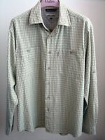 Green/Grey Plaid Shirt by Pro Cam-Fis