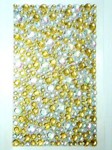 Bling Jewelry Rhinestone Sticker - Gold