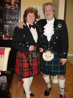 Complete Scottish Dress Uniform. Prince Charlie Fame- REDUCED!